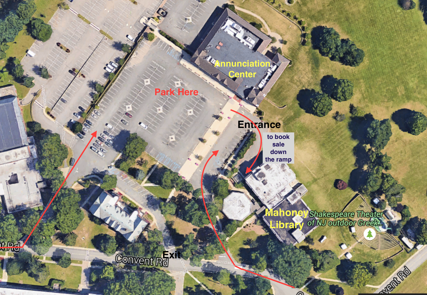 College Of New Jersey Campus Map.2019 Book Sale Aauw Of Madison Nj