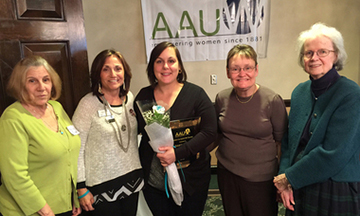 Madison Branch with NJ AAUW President