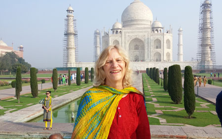 Jeanne in India